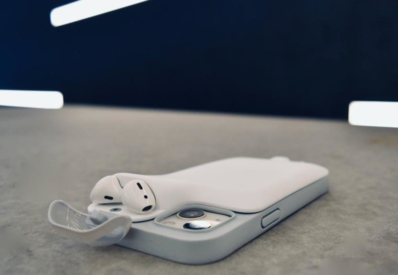 Power1 is a battery pack for iPhones that also carries and charges AirPods